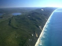 Fraser Island coastline, Photo by EHP