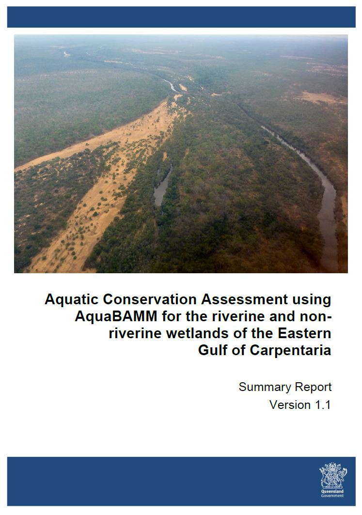 Eastern Gulf of Carpentaria Aquatic Conservation Assessment