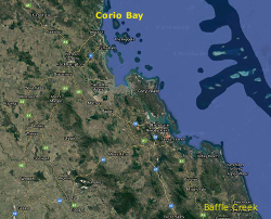 Corio Bay to Baffle Creek