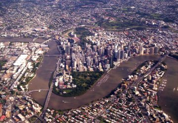Brisbane River, Photo by Cathy Ellis