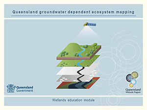 Queensland Groundwater dependent ecosystem mapping